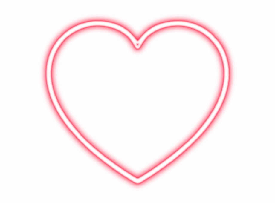 heart #neon #light #png #tumblr.
