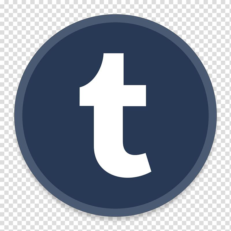 Brand trademark logo, Tumblr transparent background PNG.