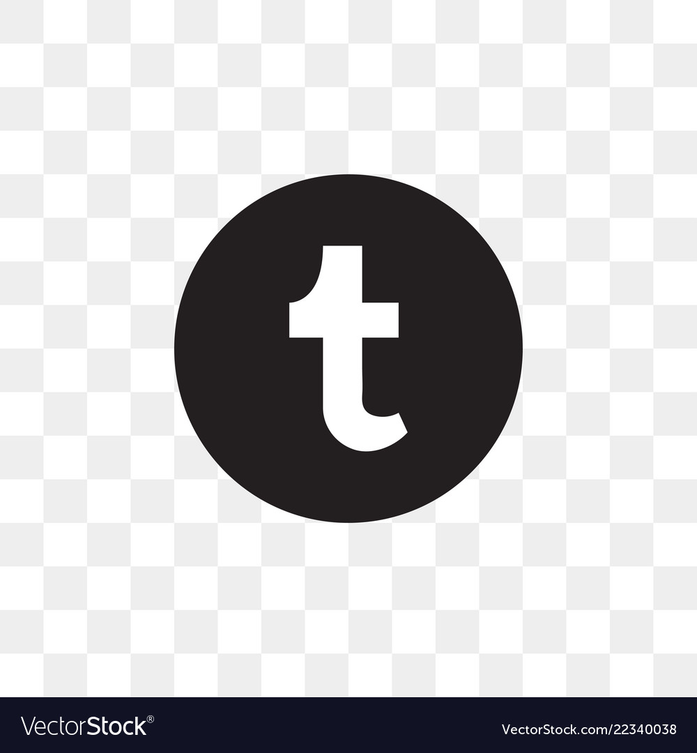 Tumblr social media icon design template.