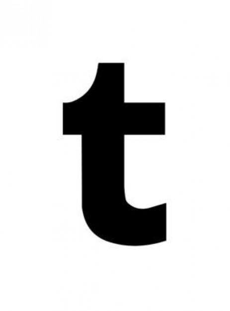 Icon Tumblr Logo Vector #16094.