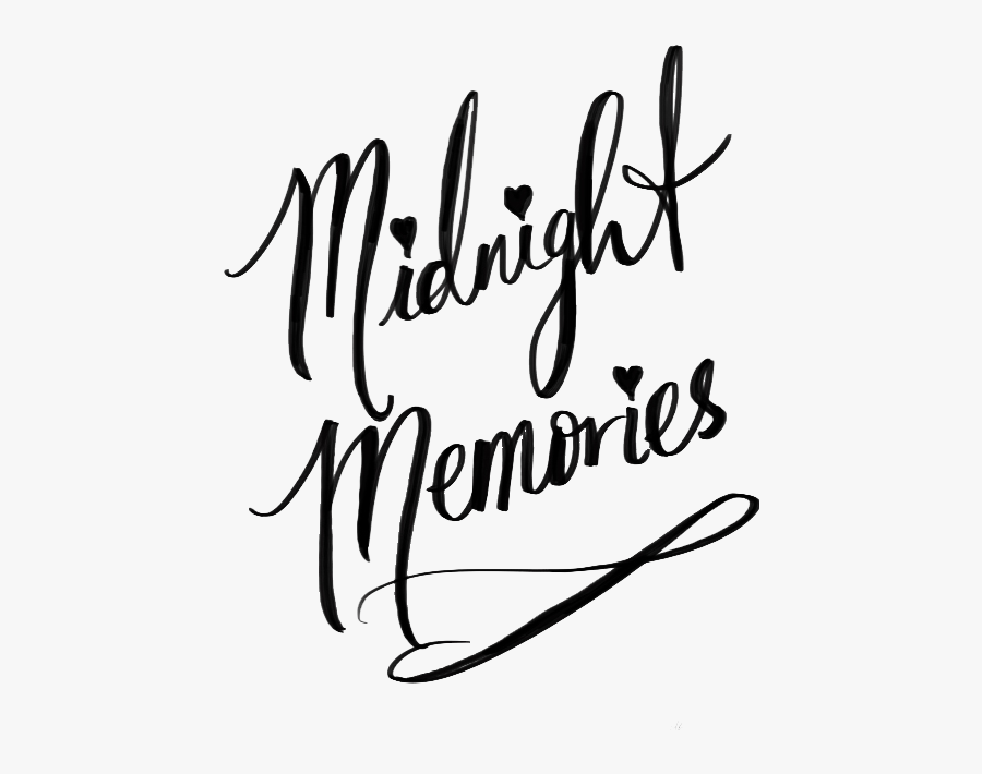 One Direction Midnight Memories Tumblr Lyrics Clipart.