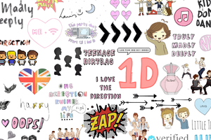 Overlays tumblr png one direction 5 » PNG Image.