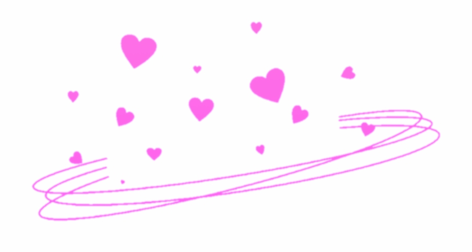 Ftestickers Hearts Heartcrown Halo Tumblr Pink Png.