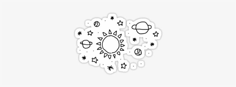 tumblr Space Stars\' Sticker By Lucydeano.
