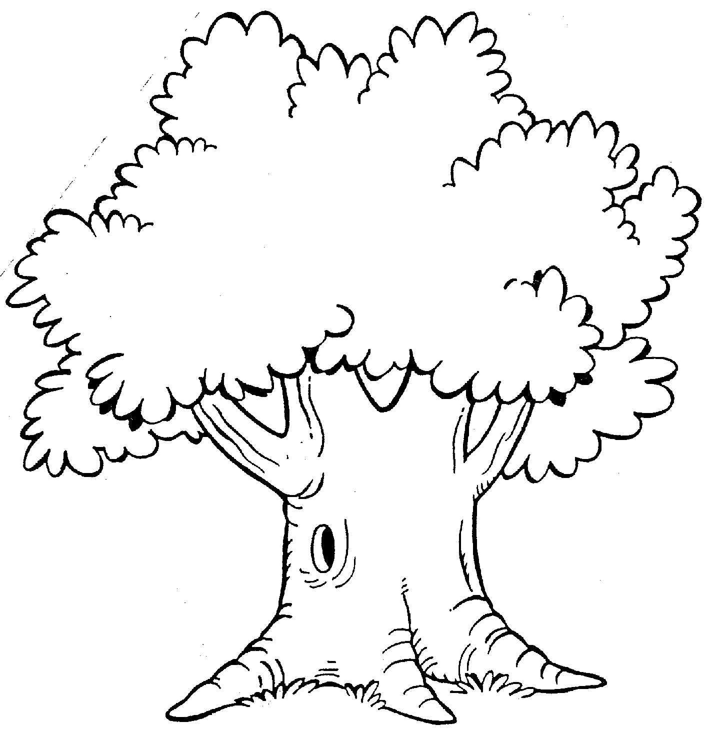 Clipart pokok.