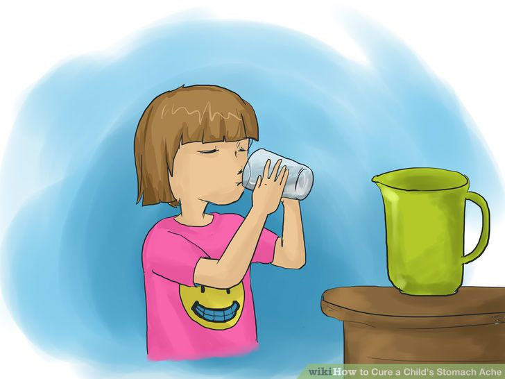 How to Cure a Child's Stomach Ache (with Pictures).