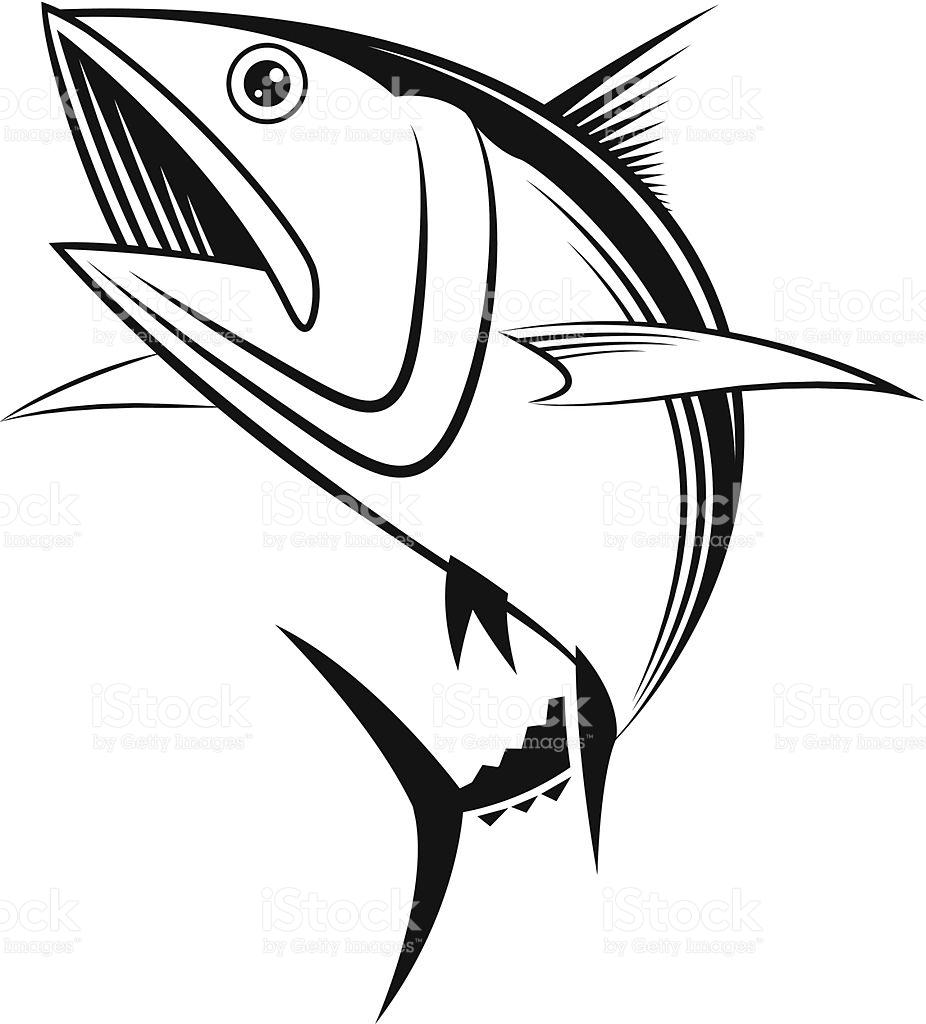 Vector Tuna Graphic stock vector art 502299247.