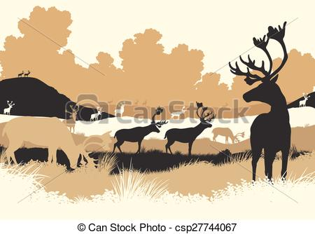 Tundra Clip Art Vector Graphics. 192 Tundra EPS clipart vector and.
