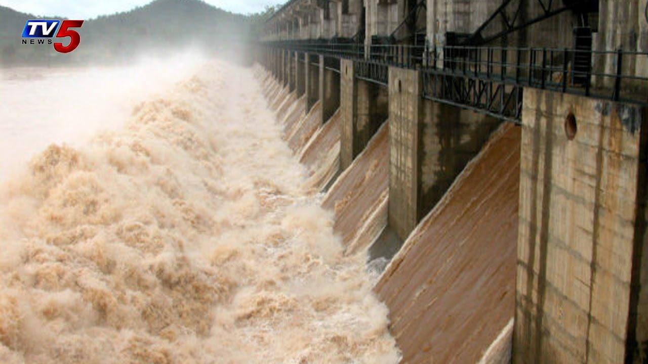 Water Levels Increased in Tungabhadra Dam : TV5 News.