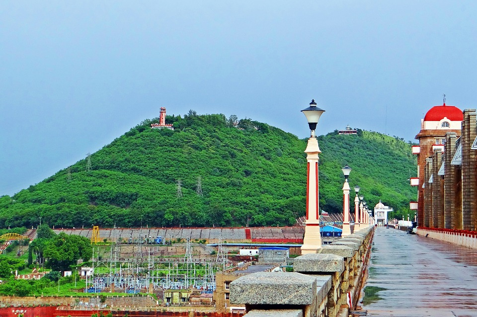 Free photo: Hospet, Tungabhadra Dam, River.
