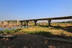 Valley Of Tungabhadra River, India, Hampi Royalty Free Stock Photo.