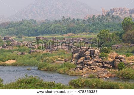 Tungabhadra plains clipart #2
