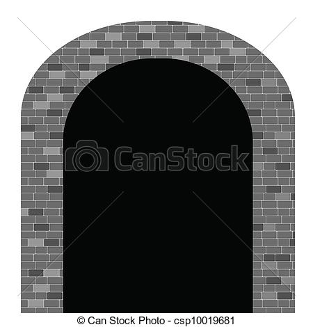 Tunnel arch clipart - Clipground