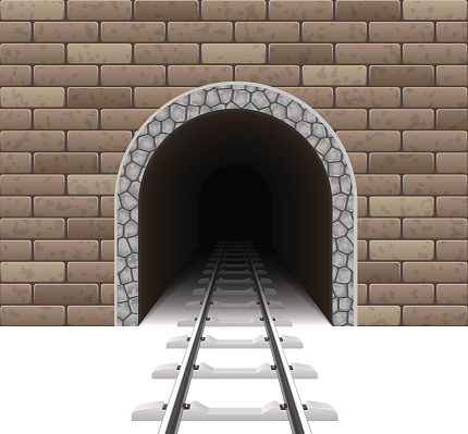 Tunnel clipart.