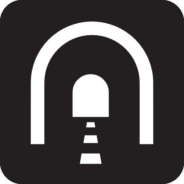 Tunnel Black Clip Art at Clker.com.