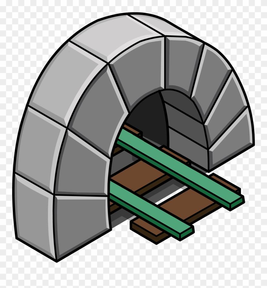 Tunel Clipart Secret Tunnel.