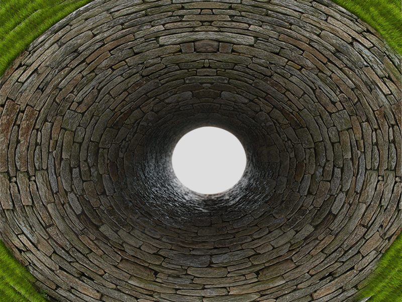 Stone Bricks Tunnel PNG (Stone.