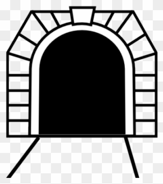 Tunnel Clipart Black And White.