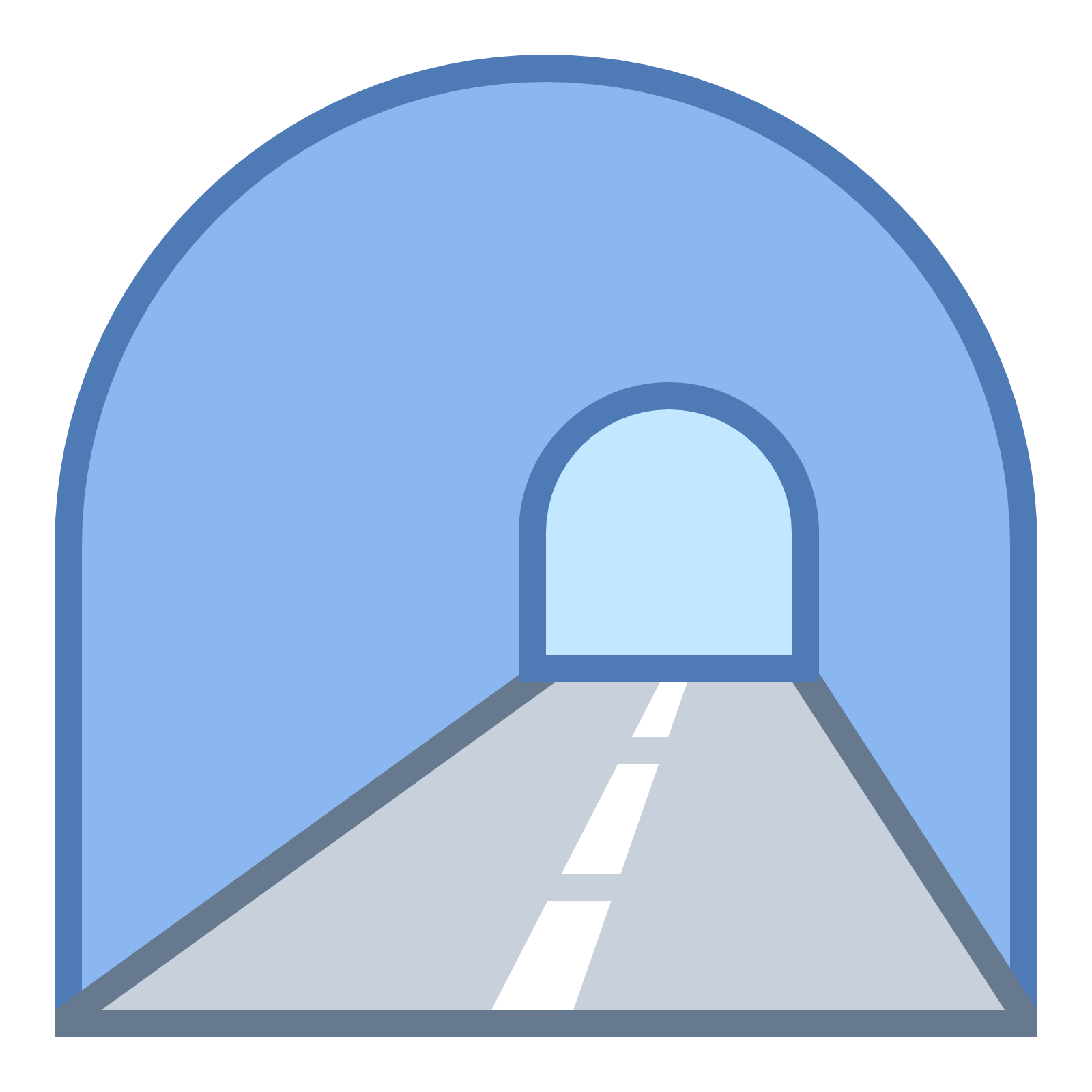 Tunnel Download Icon #38498.