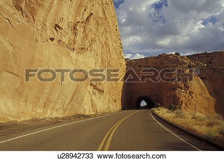 Stock Photo of CO, Colorado, Colorado National Monument, Rim Rock.
