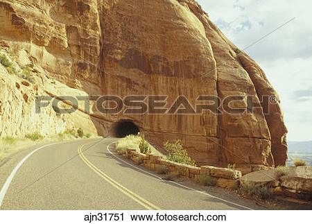 Stock Photography of CO, Colorado, Colorado National Monument, Rim.