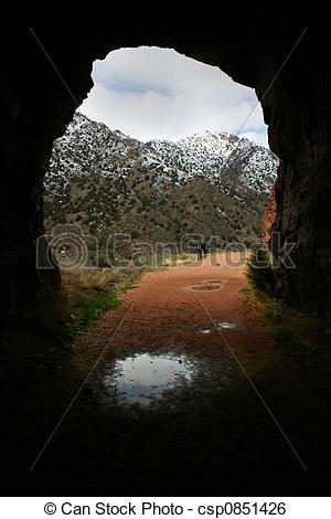 Stock Image of Tunnel View.