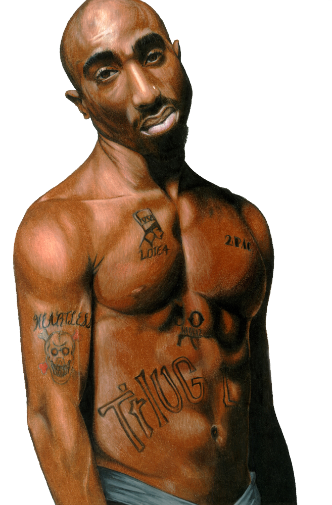 2Pac PNG Image.