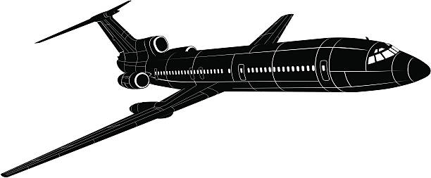 Tupolev Tu 154 Clip Art, Vector Images & Illustrations.