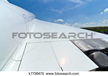 Stock Image of supersonic aircraft Tupolev TU.