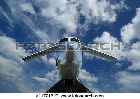 Stock Photograph of The Tupolev Tu.