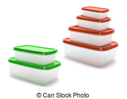 Tupperware Clip Art and Stock Illustrations. 12 Tupperware EPS.