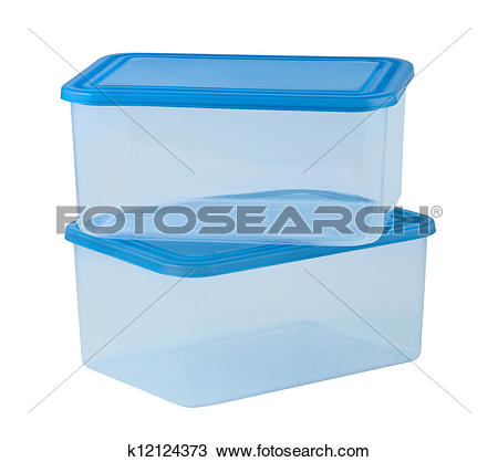Stock Photo of plastic food container like tupperware k3245494.