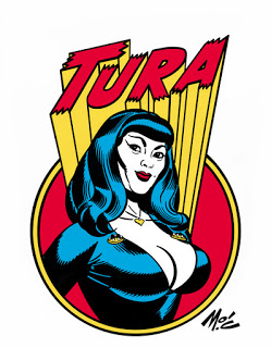 Mitch O'Connell: Tura Satana Logo Designing! You Can't Stop at.