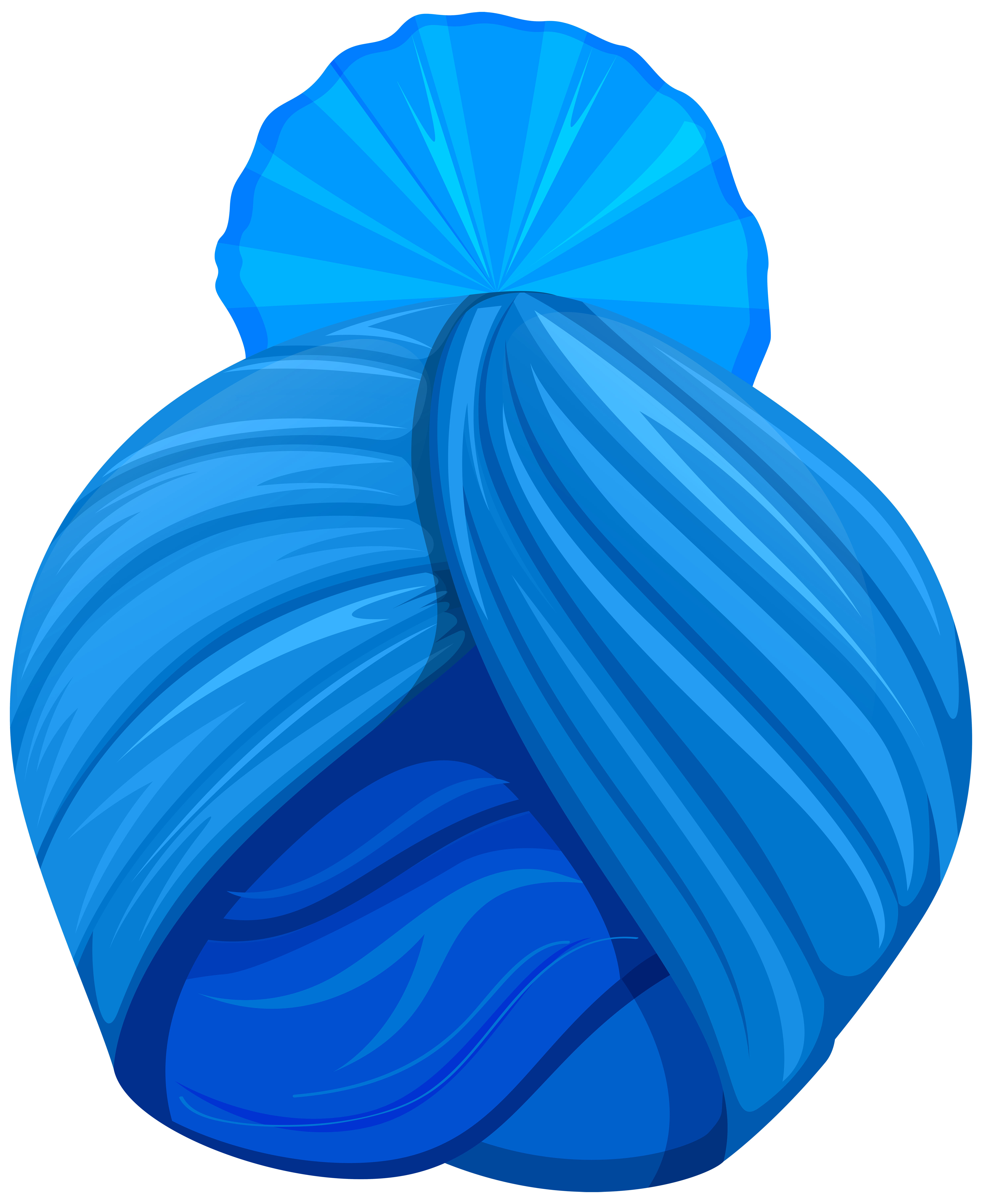 India Turban Free PNG Clip Art Image.