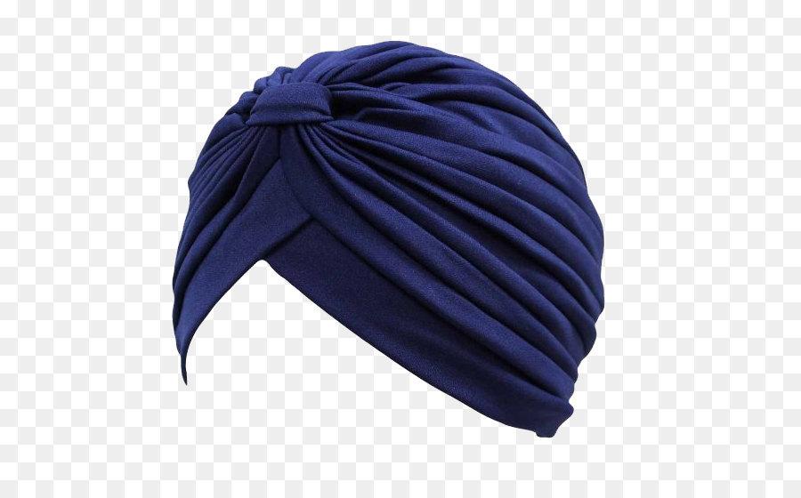 Beanie Blue Knit Cap Knitting.