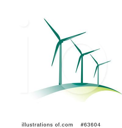 Wind Turbine Clipart.