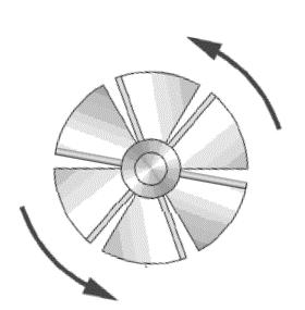 Gas Turbine Clipart.