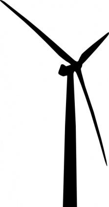 Wind Turbine clip art.