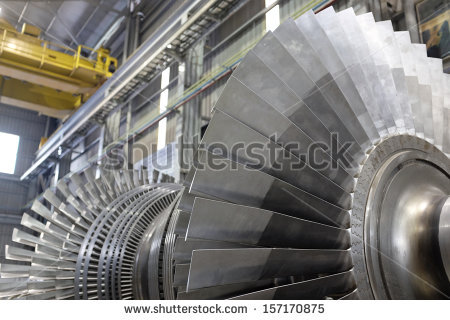 Gas Turbine Stock Images, Royalty.