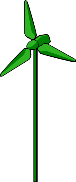 Free to Use & Public Domain Wind Turbine Clip Art.