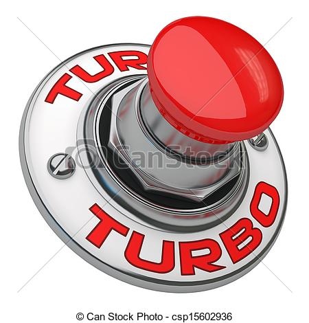 Stock Photos of Turbo Button.