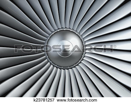 Stock Illustration of Turbo jet engine k23781257.