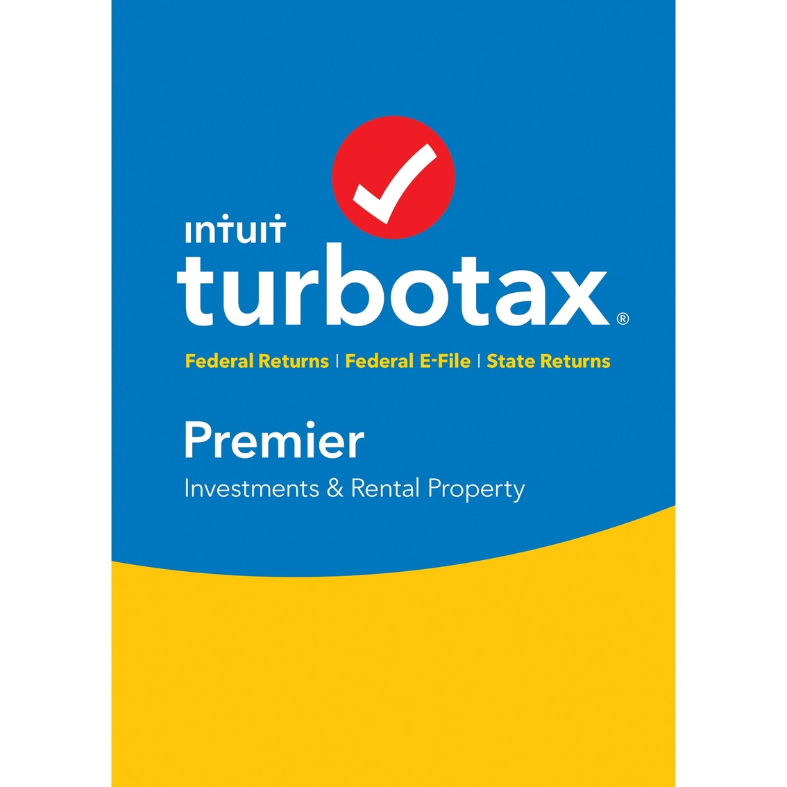 Intuit Turbotax Premier 2016.