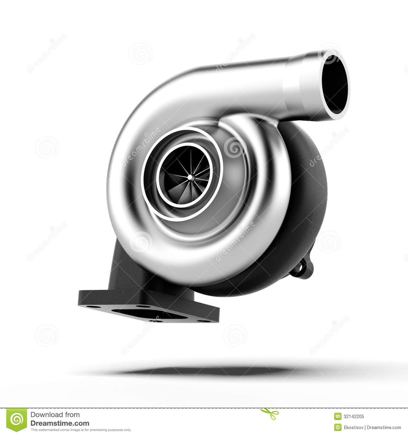 Turbocharger Stock Illustrations.