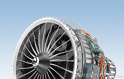 Turbofan Stock Illustrations.