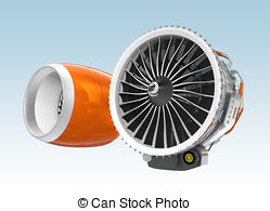 Two jet turbofan engines Illustrations and Clipart. 3 Two jet.