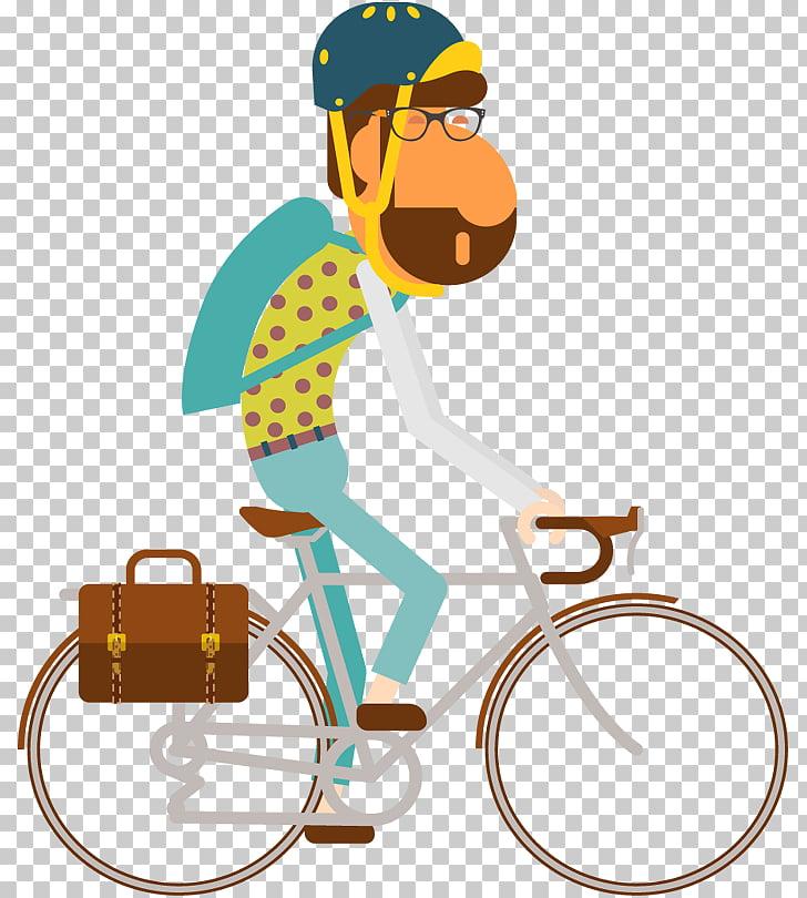 Bicicleta turista PNG Clipart.