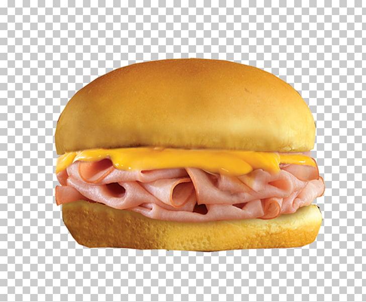 Ham and cheese sandwich Hamburger Fast food Breakfast.