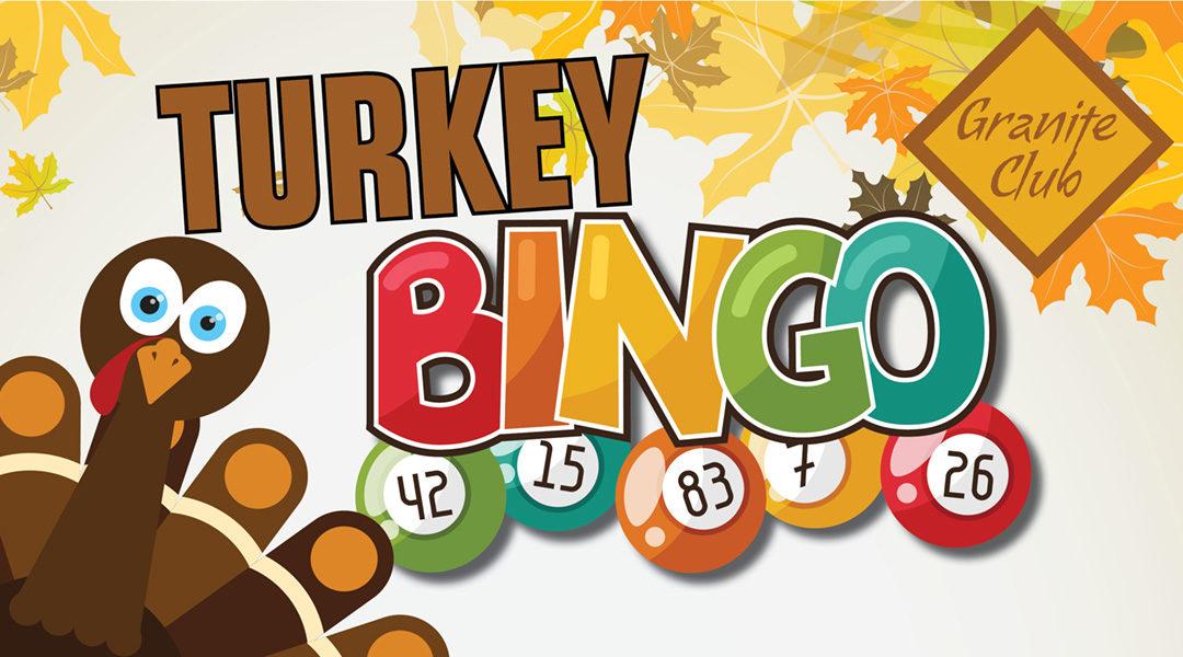 Turkey Bingo.