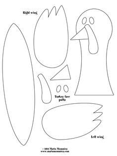 Turkey Feather Printable.